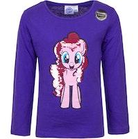 My little pony Långärmad tröja - Pinkie pie med Paljetter