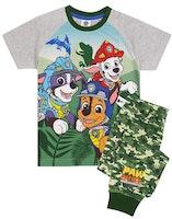 Paw patrol Långärmad Pyjamas - Dinosaur Camo!