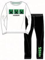 Minecraft Långärmad pyjamas - Tripple creeper