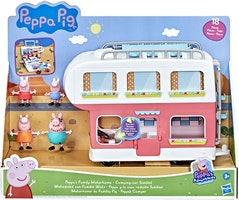 Greta gris / Peppa pigs Husvagn - Familjens husvagnssemester