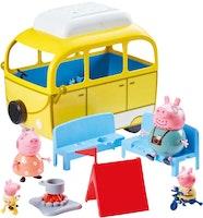 Greta gris / Peppa pig Campingsemester / Campingbil