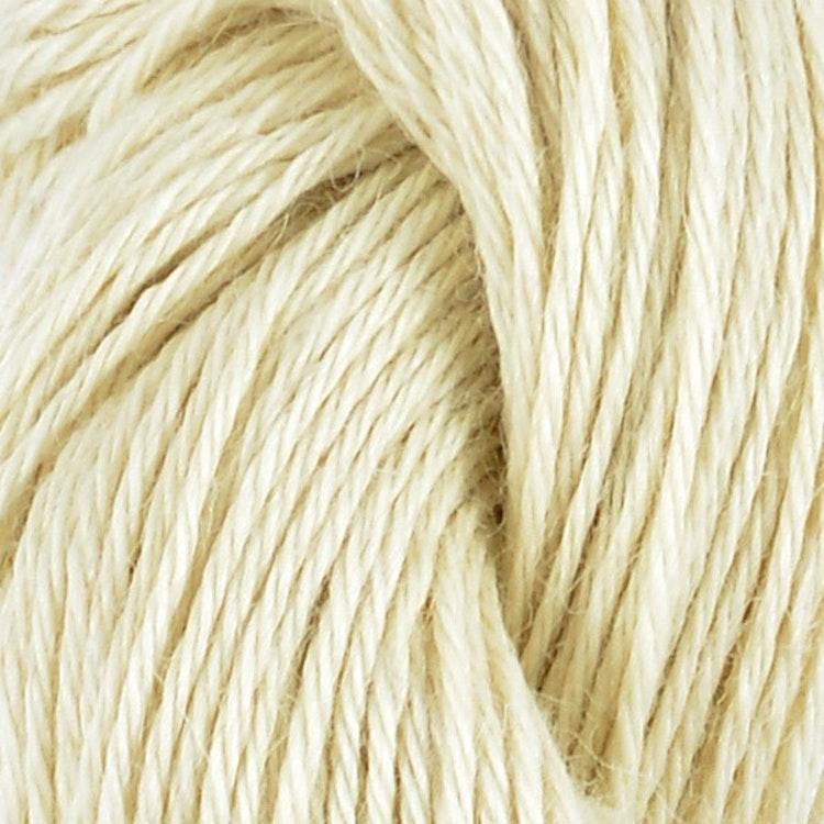 Llama Silk, Eggshell White