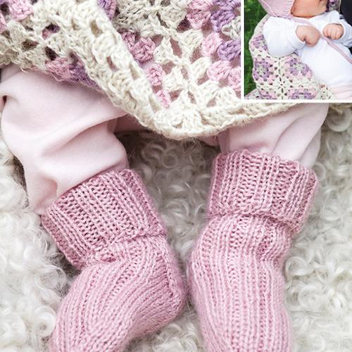 Baby strumpor, filtar