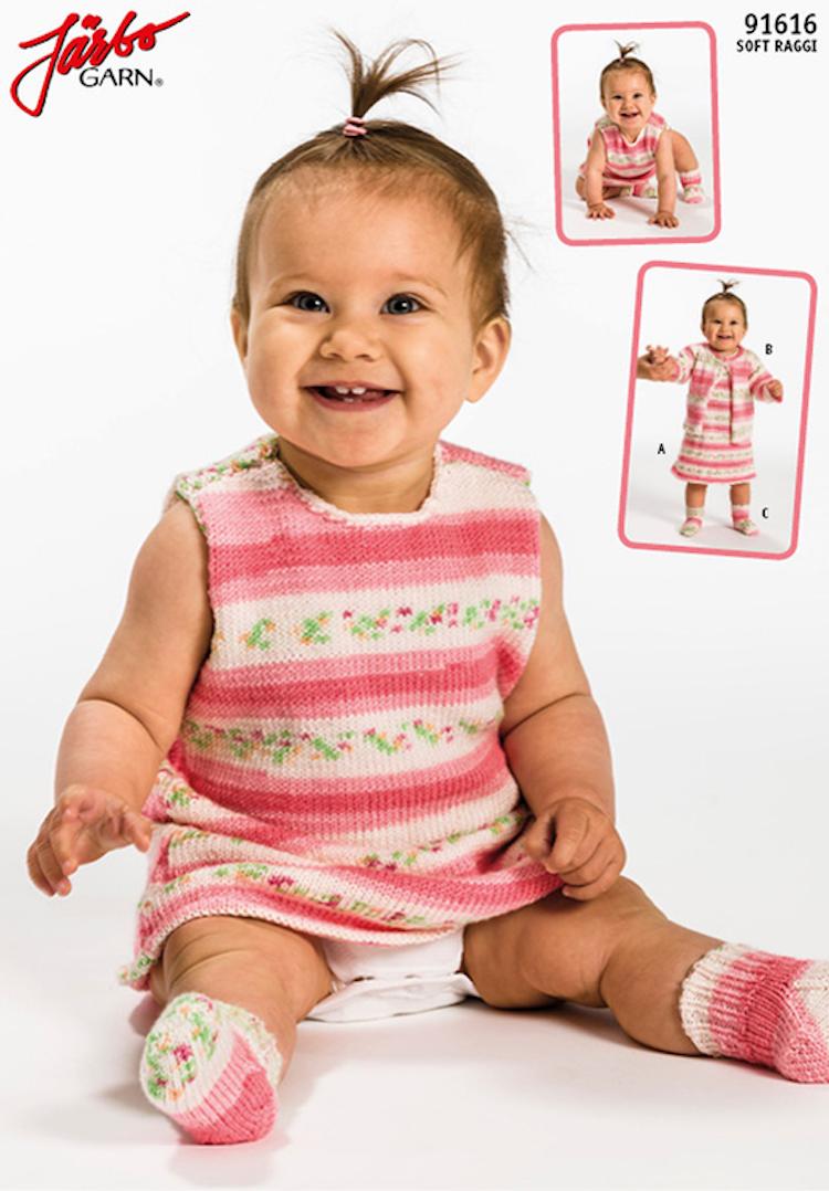 Babyklänning och sockor*