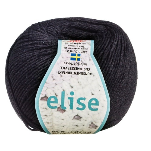 Elise ,50 g, Black