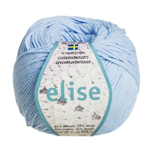 Elise ,50 g ,  Light blue