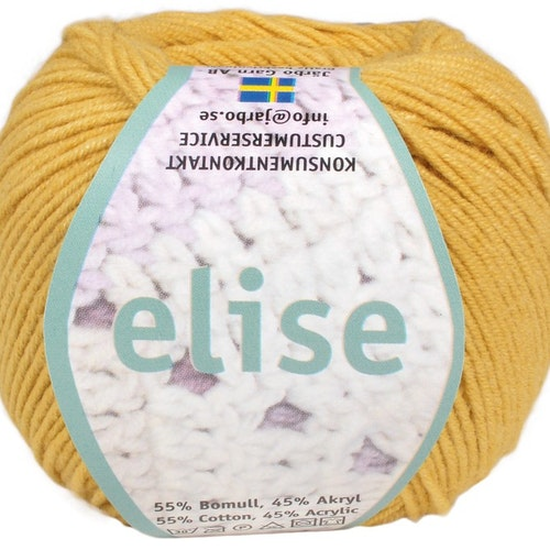 Elise ,50 g , Honey yellow