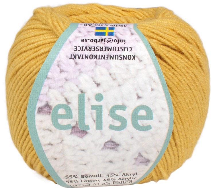 Elise ,50 g , Honey yellow