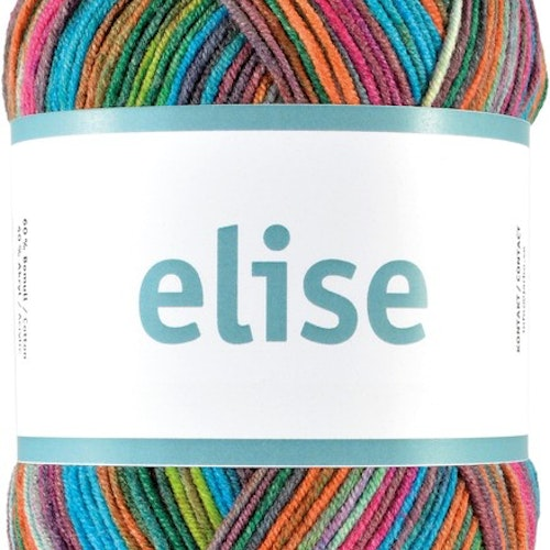 Elise , 100 g Rainbow of colors