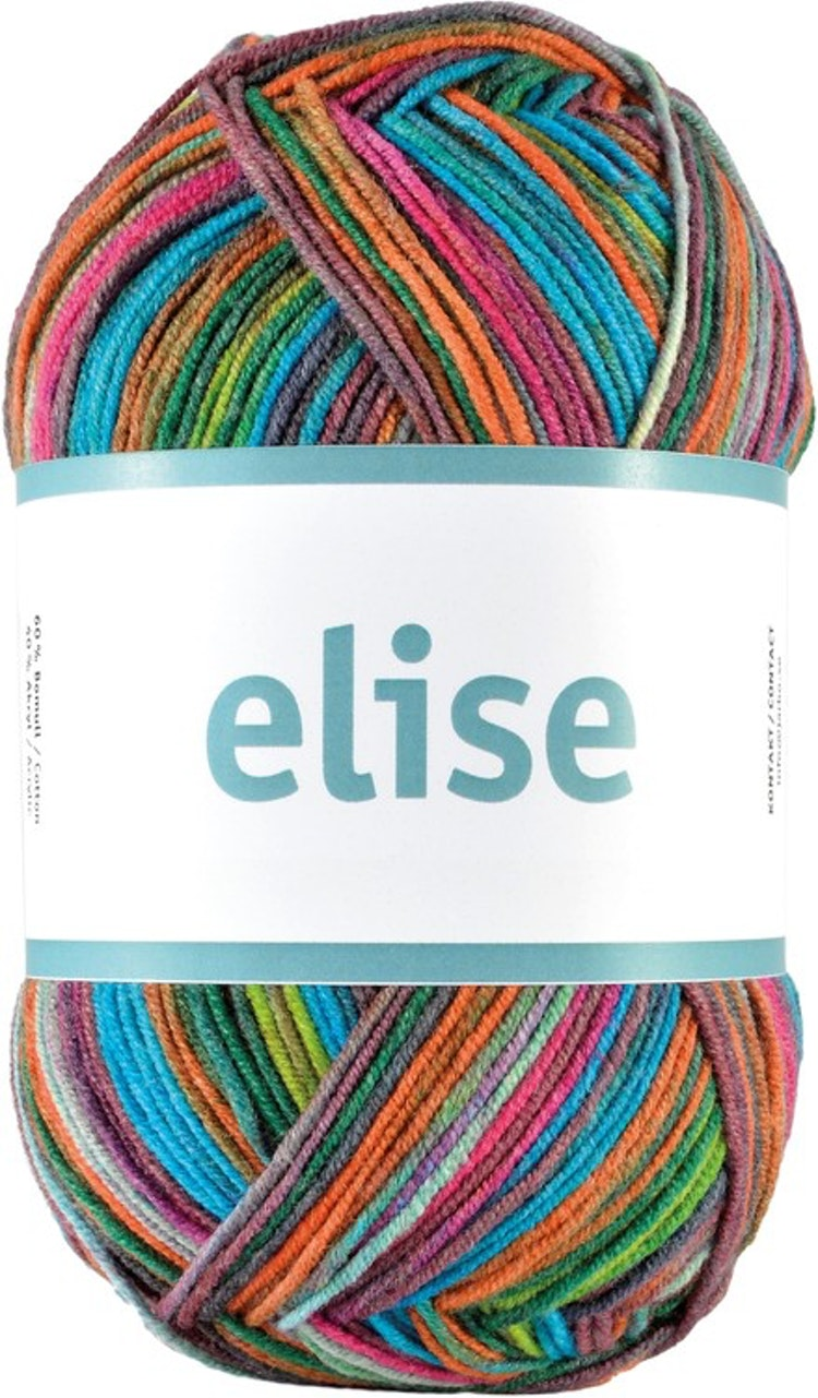 Elise , 100 g Rainbow of colors
