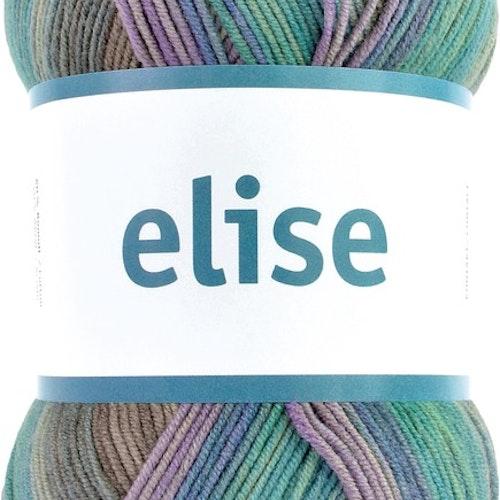 Elise , 100 g Purple sand dunes print