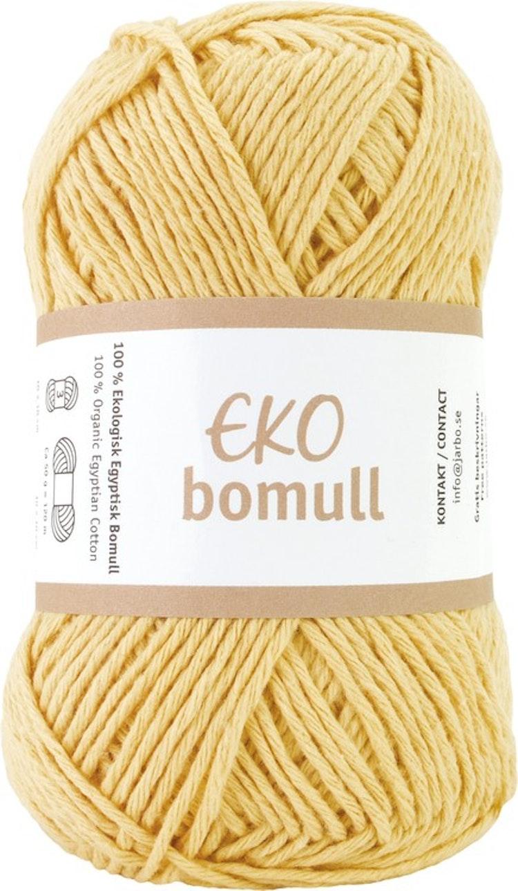 Eko Bomull, 50g Light yellow