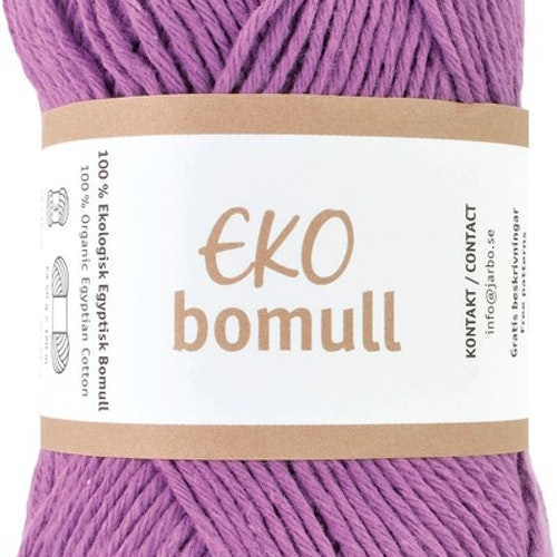 Eko Bomull, 50g Purple