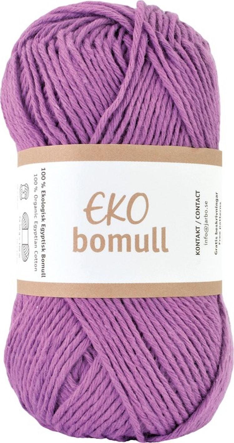Eko Bomull, 50g Purple