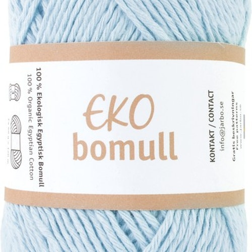 Eko Bomull, 50g Light blue