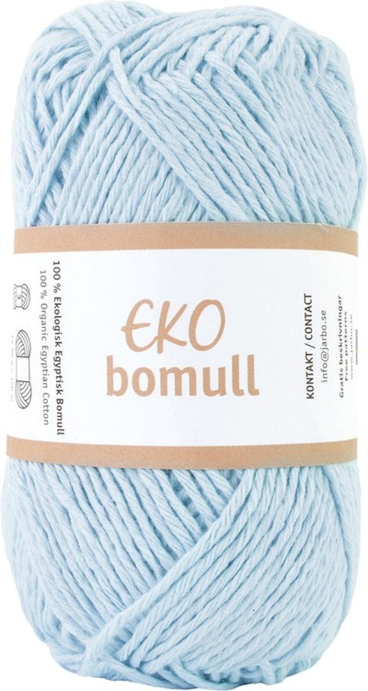 Eko Bomull, 50g Light blue