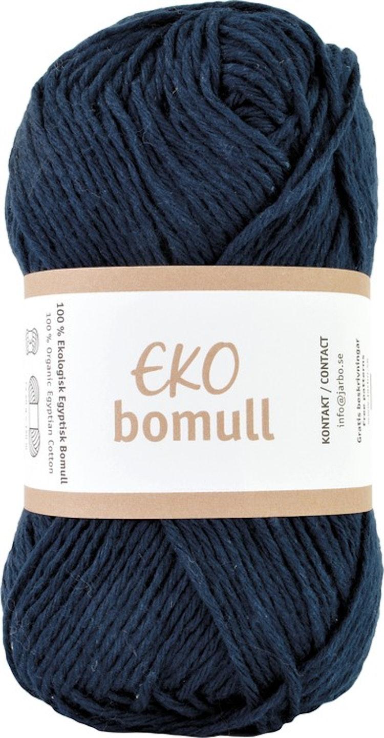 Eko Bomull, 50g Navy blue