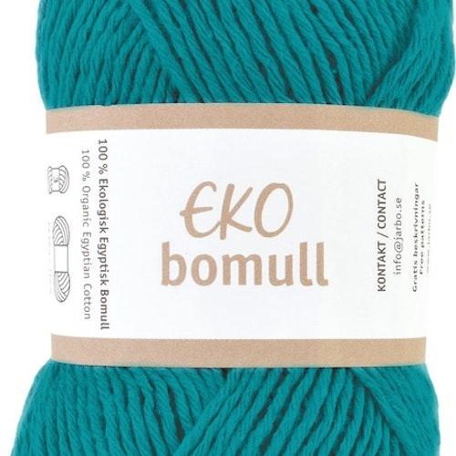 Eko Bomull, 50g Dark turquoise