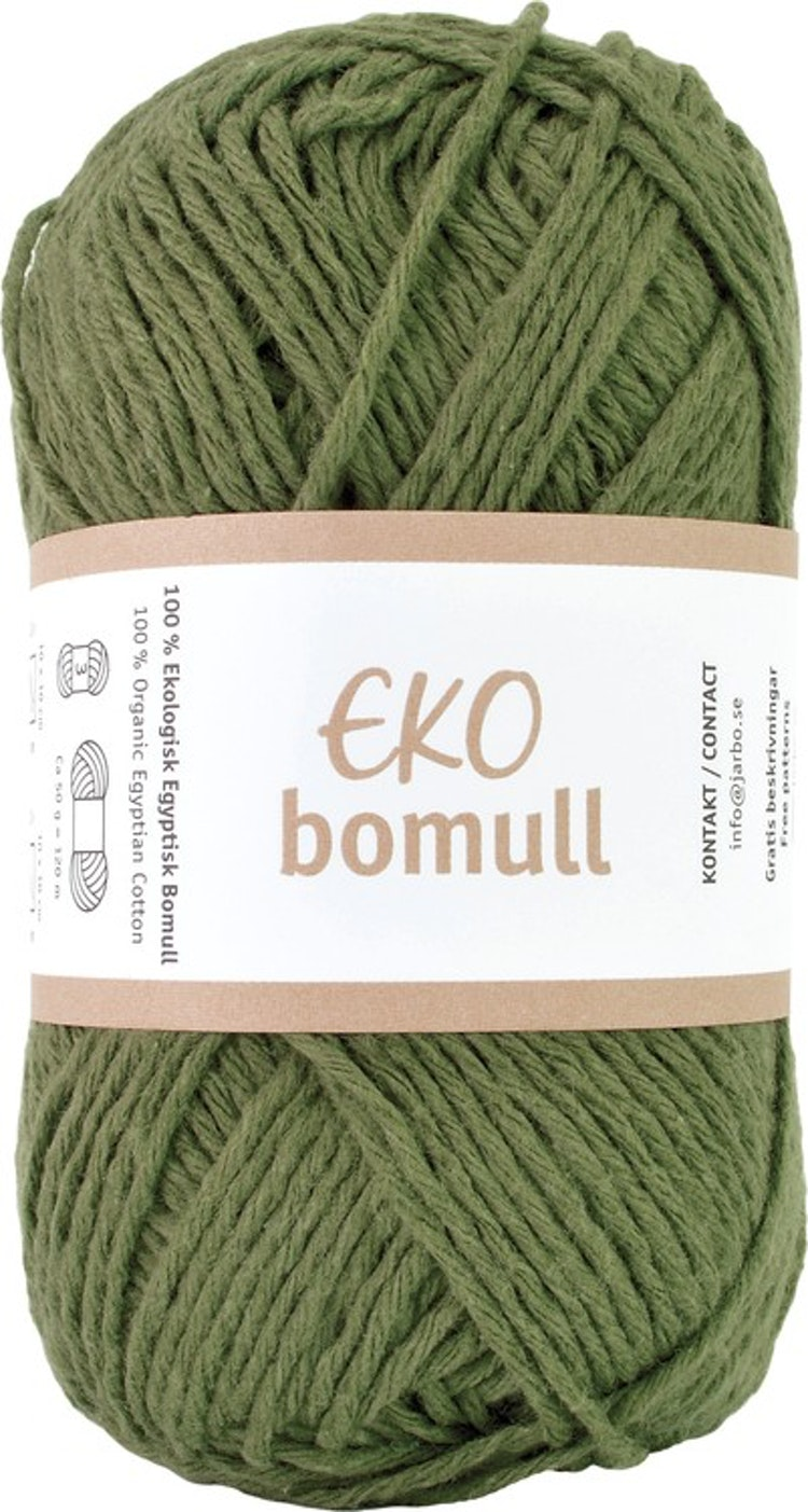 Eko Bomull, 50g Green