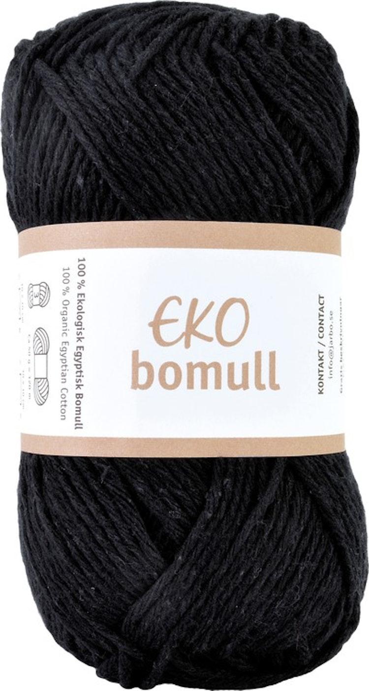 Eko Bomull, 50g Black