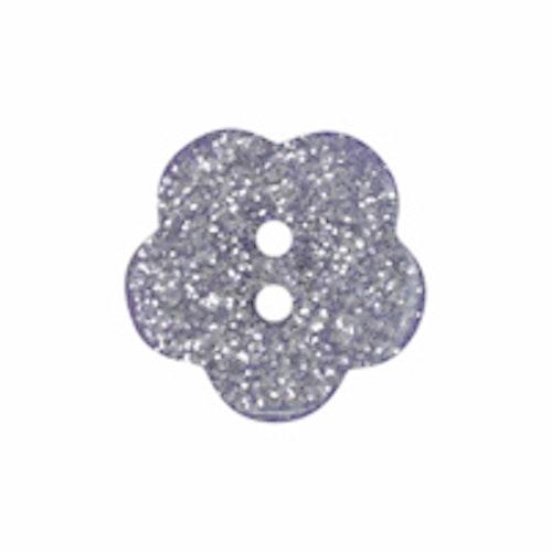Barnknapp,Glitterblomma, 11 mm*