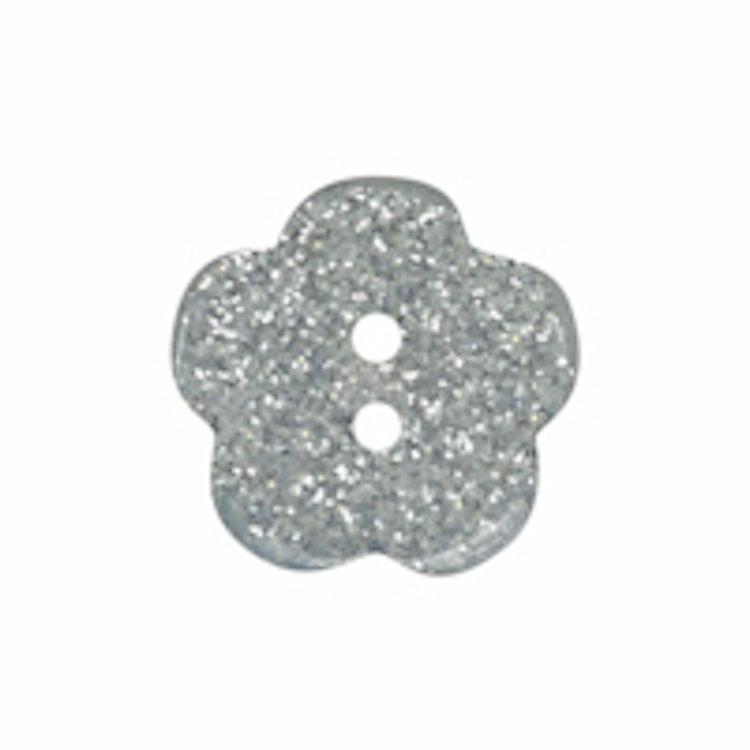 Barnknapp,Glitterblomma, 16 mm*