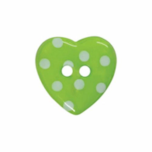 Barnknapp , Hjärta , 16 mm*