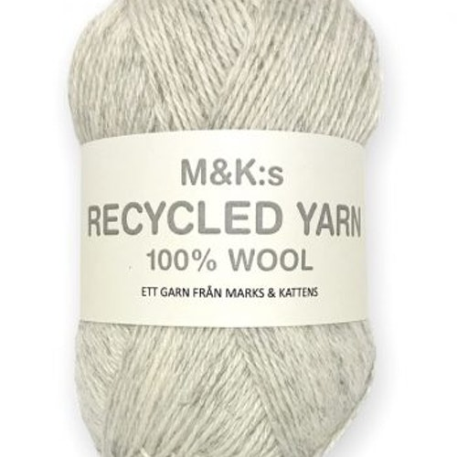 M&K Recycled Yarn, Offwhite