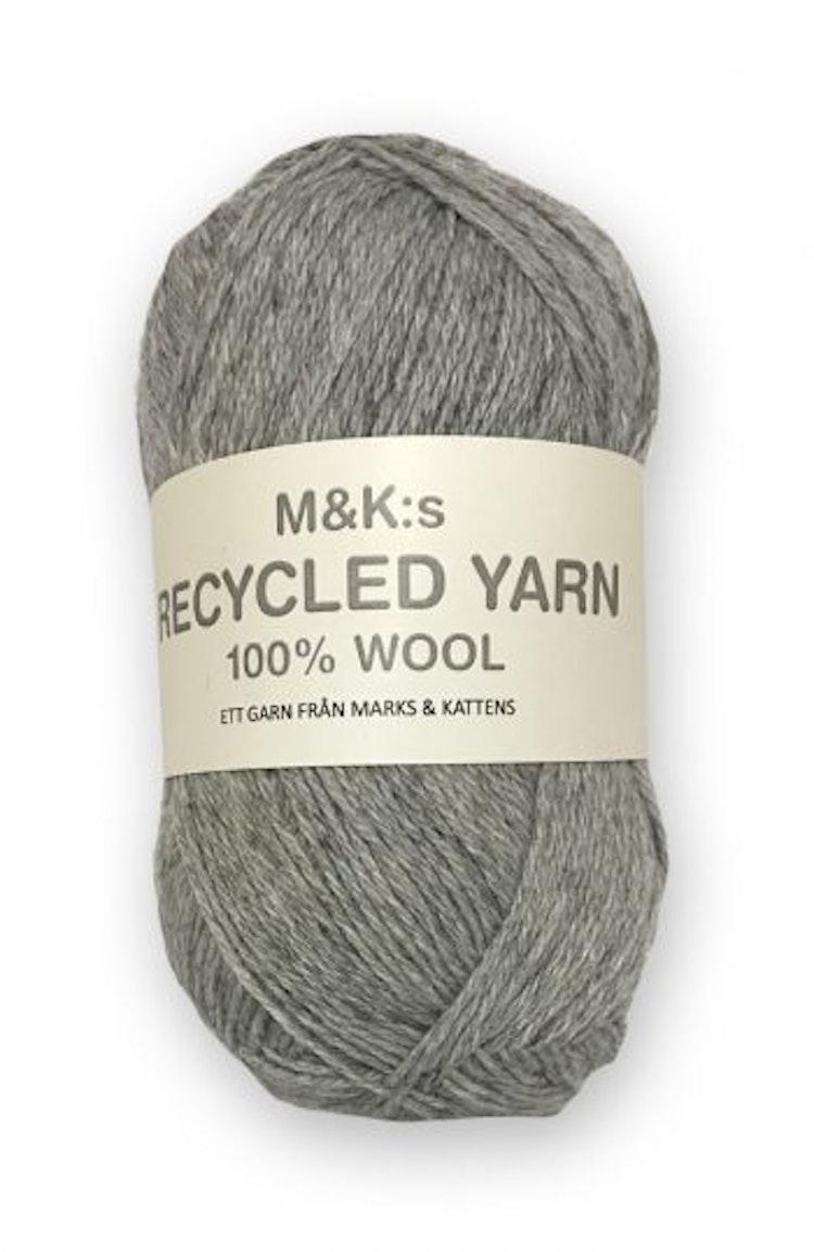 M&K Recycled Yarn, Ljusgrå
