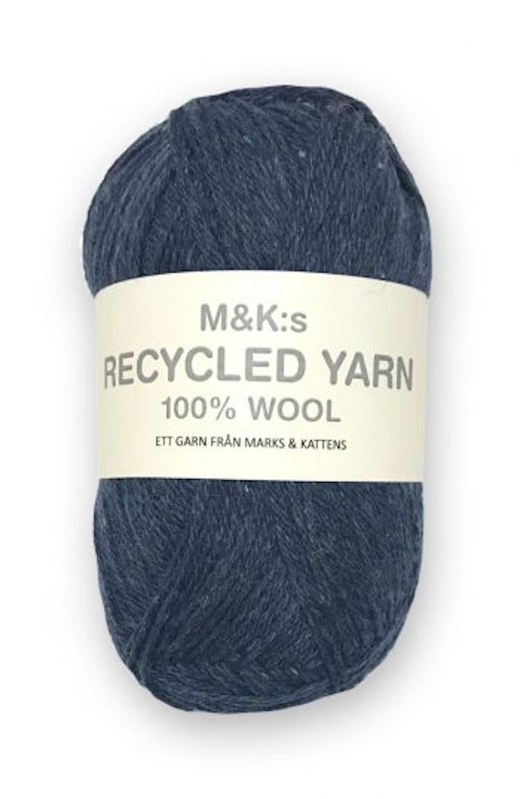 M&K Recycled Yarn, Blå