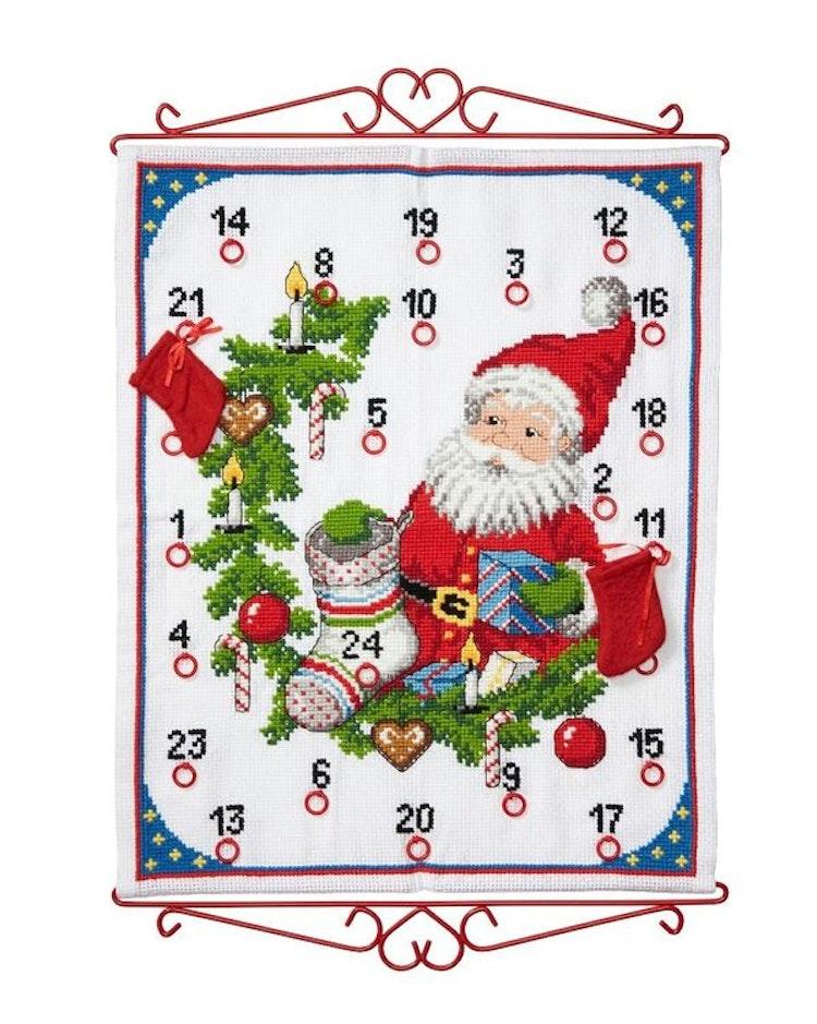 Julkalender 45 x 55 cm