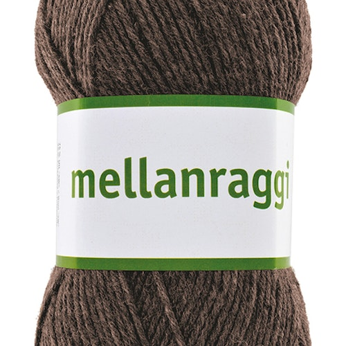 Mellanraggi 100g Brown melangé