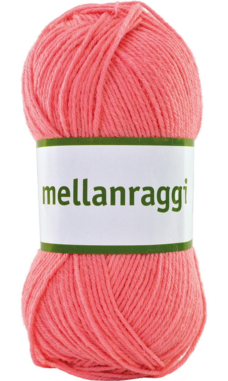 Mellanraggi 100g Soft Pink