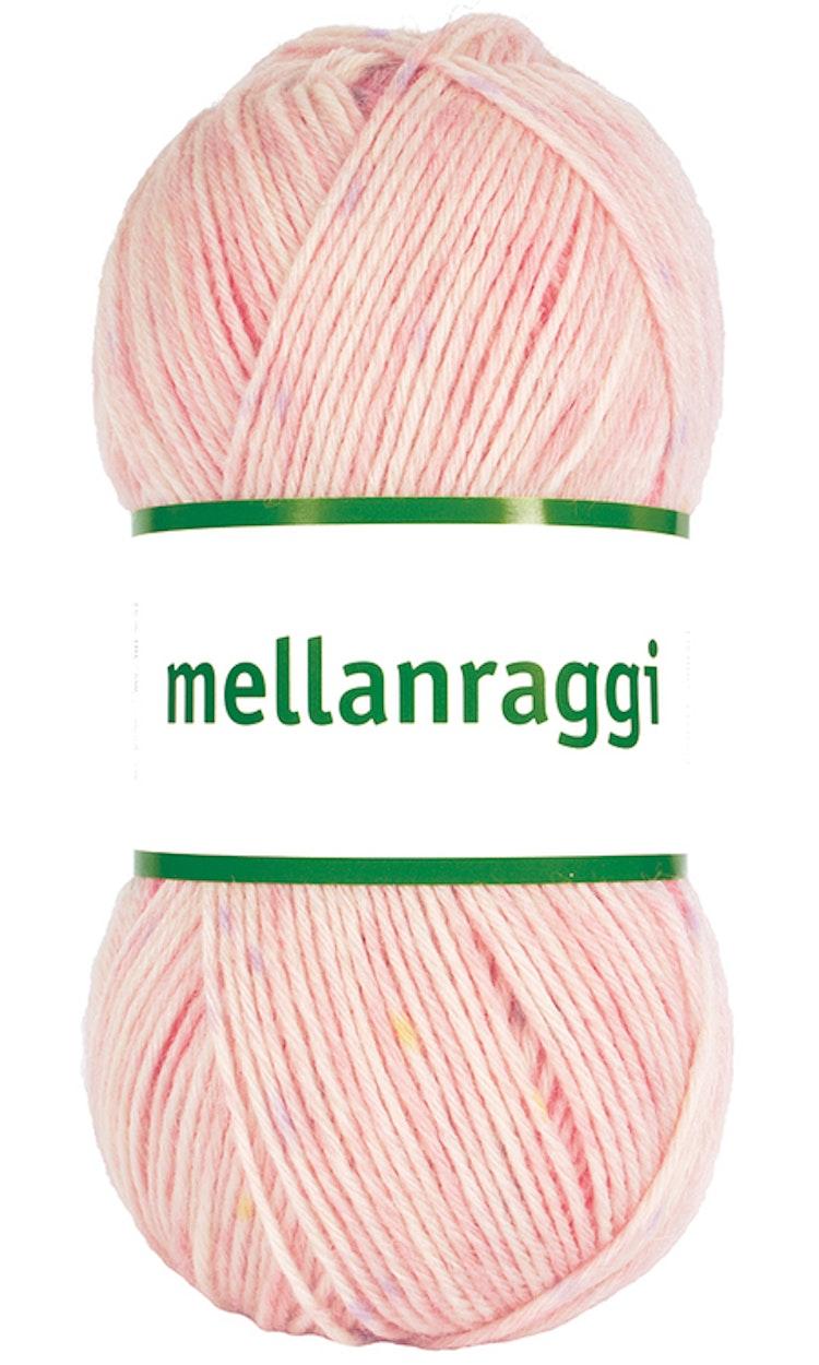 Mellanraggi 100g Pink clouds print