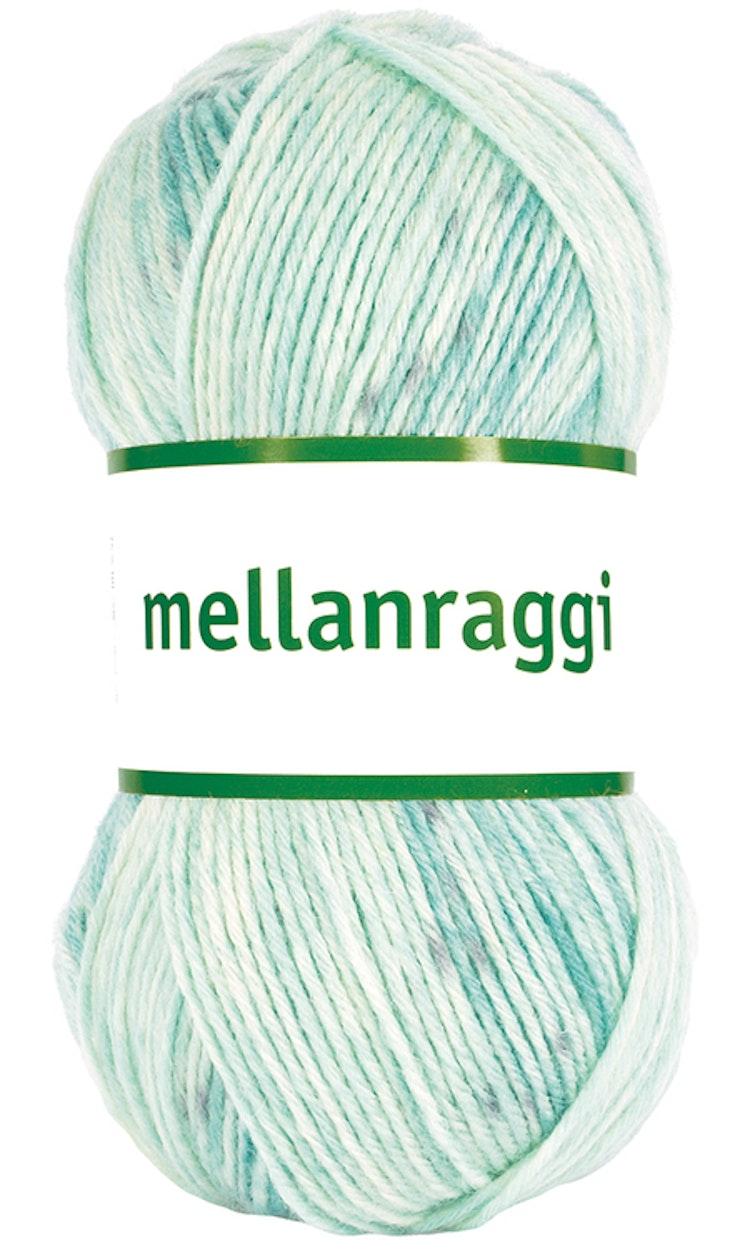 Mellanraggi 100g turquoise sea print