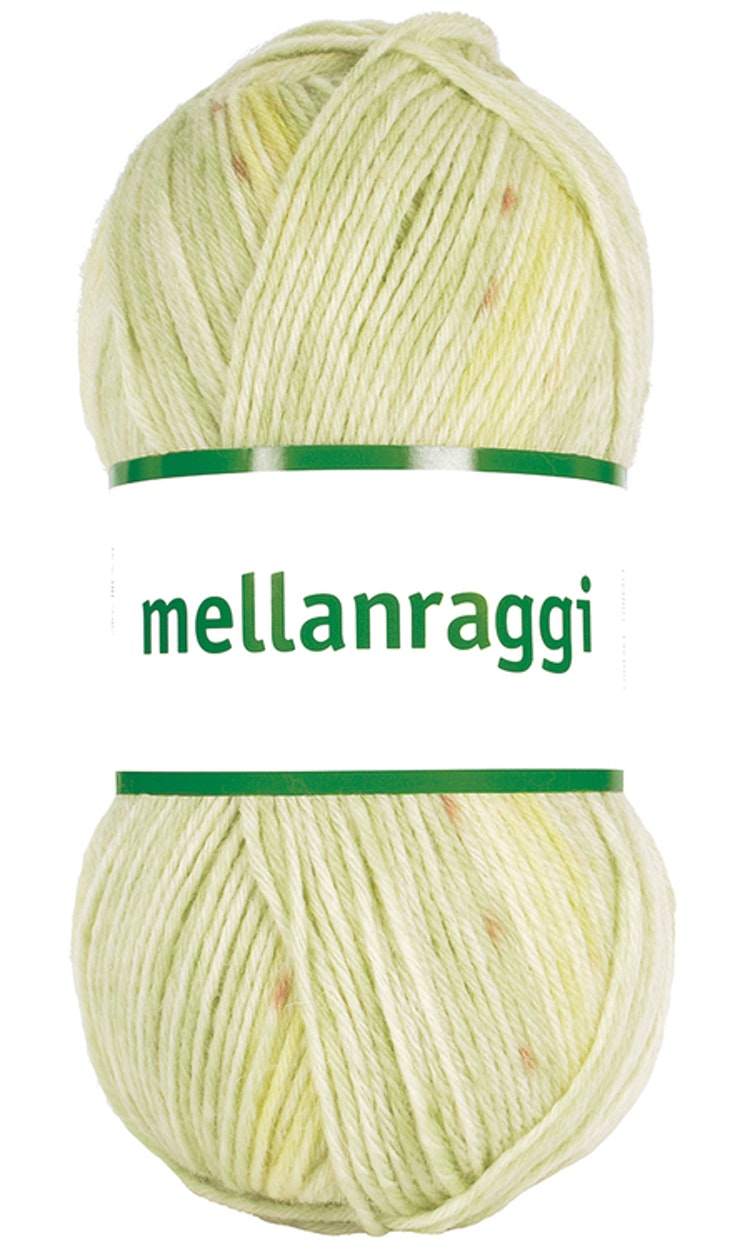 Mellanraggi 100g Pistachio green print