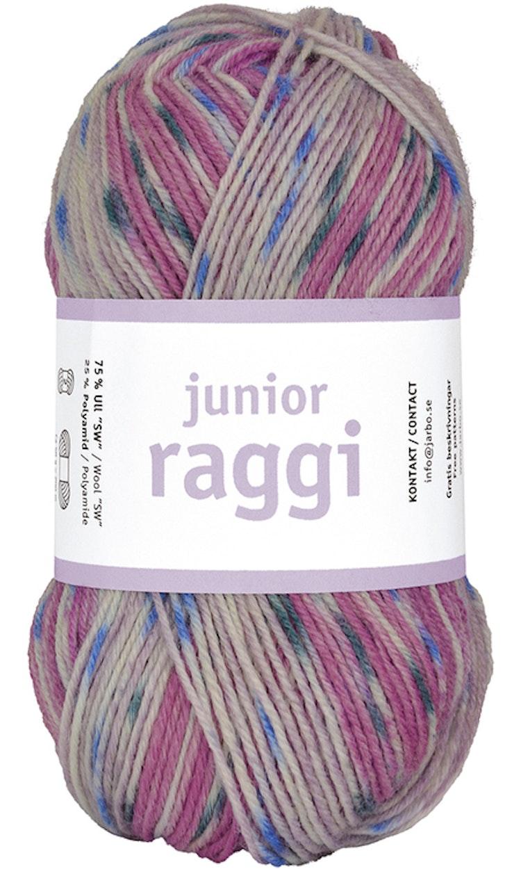 Junior Raggi 50g Zigzag rosy