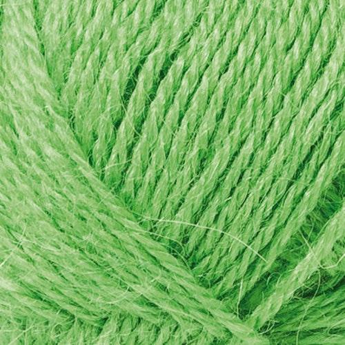 ALPACKA SOLO 50G LIGHT GREEN - Utgående färg -