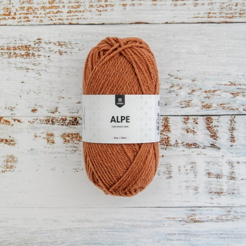 ALPE 50G GINGER BROWN