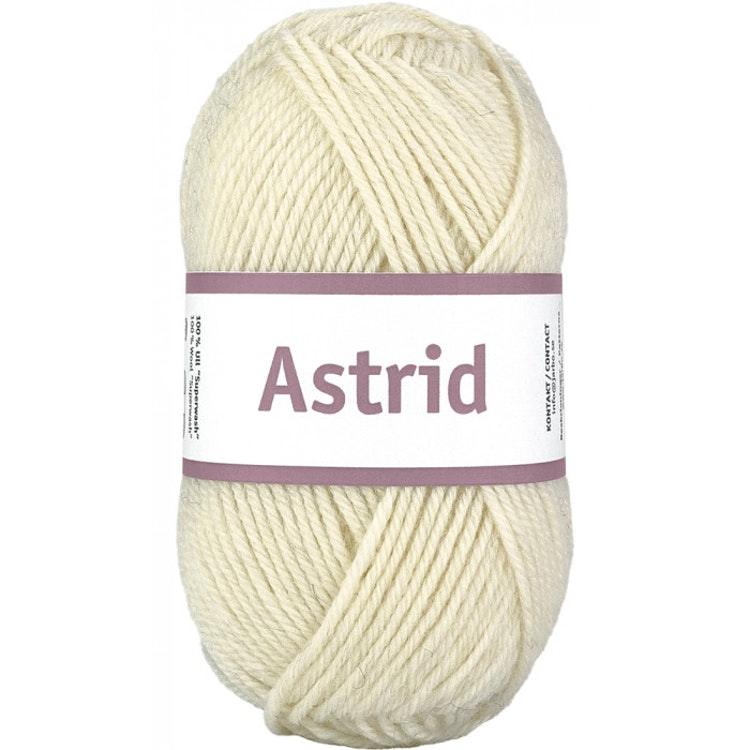 ASTRID 50G NATURAL WHITE