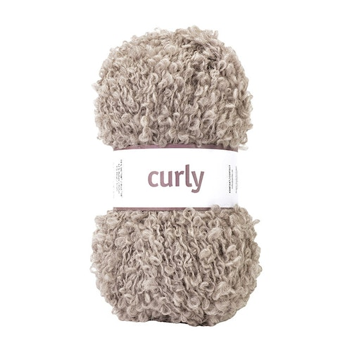 CURLY 100G SAND BEIGE