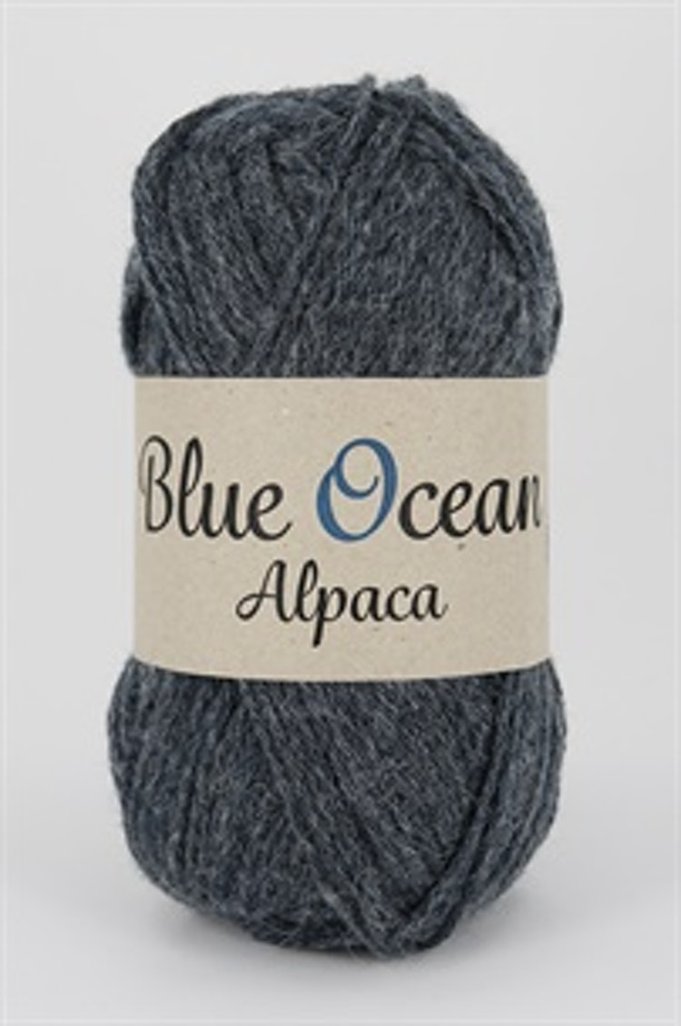 Blue Ocean Alpaca Denim Blå