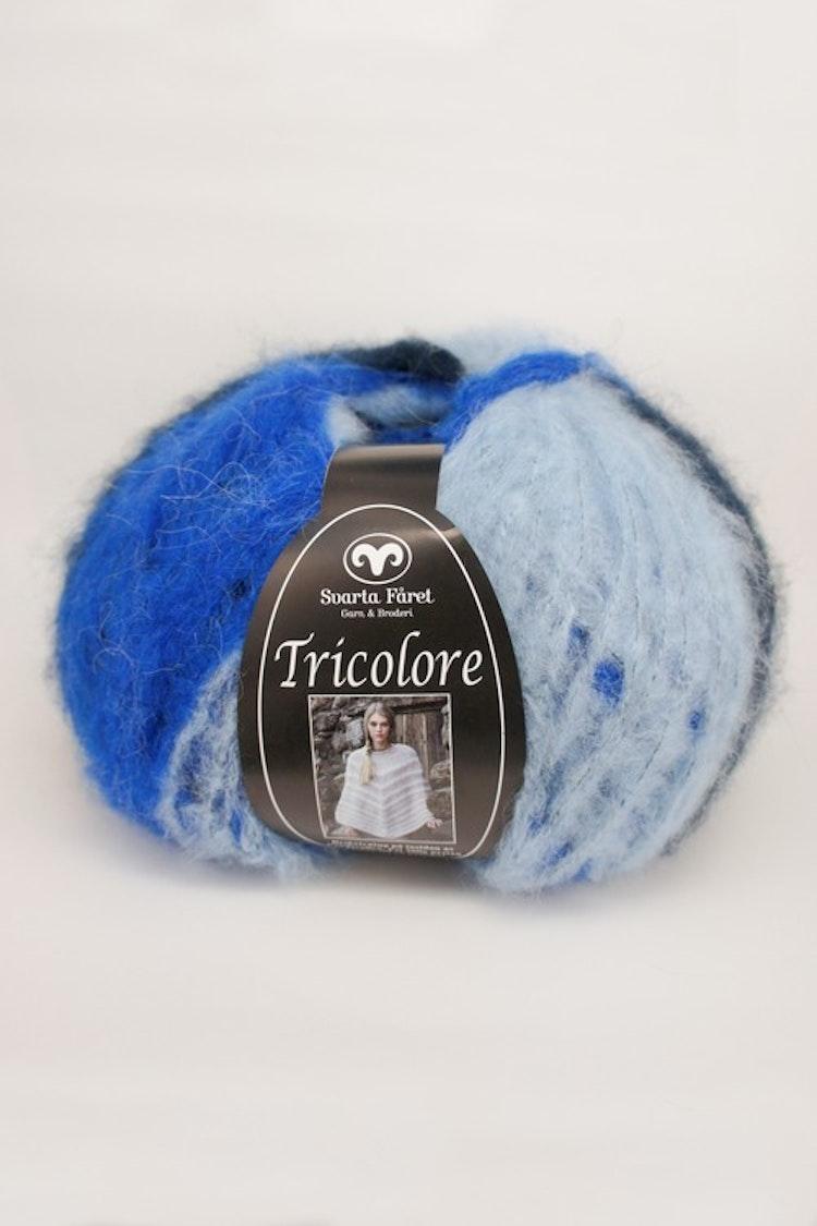 Tricolore Blå Multi