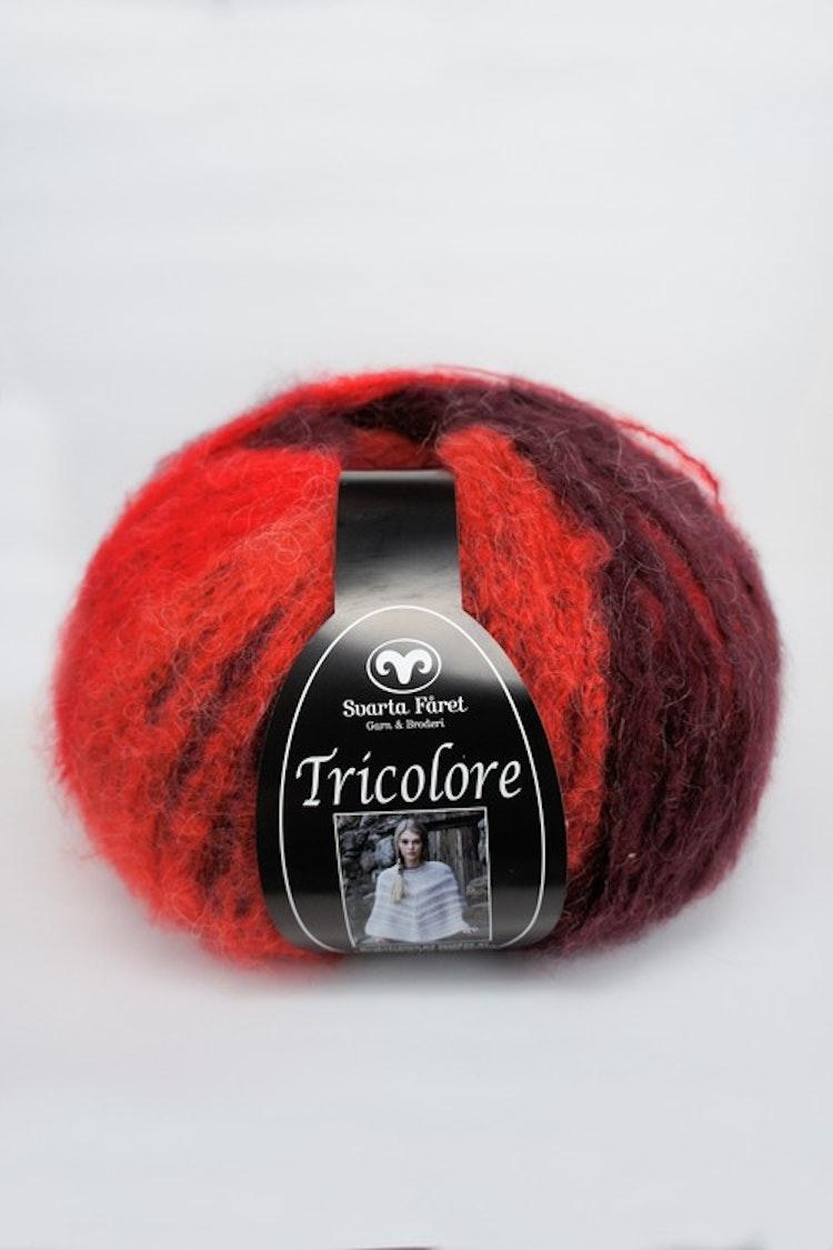 Tricolore Röd Multi
