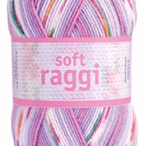 Soft Raggi Purple Print