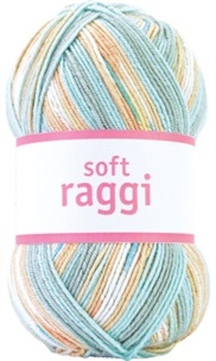 Soft Raggi Blueberry Print