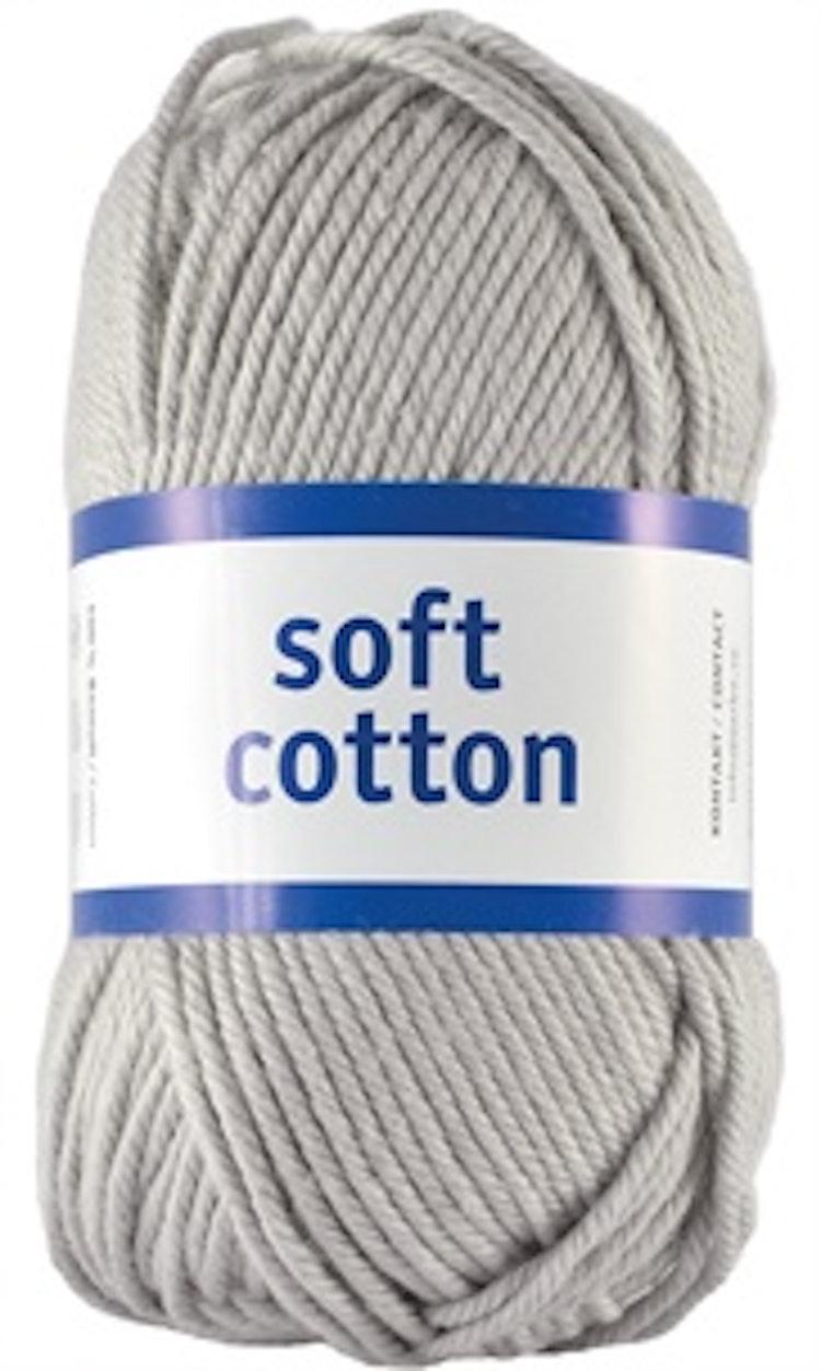 Soft Cotton, Silver Grey