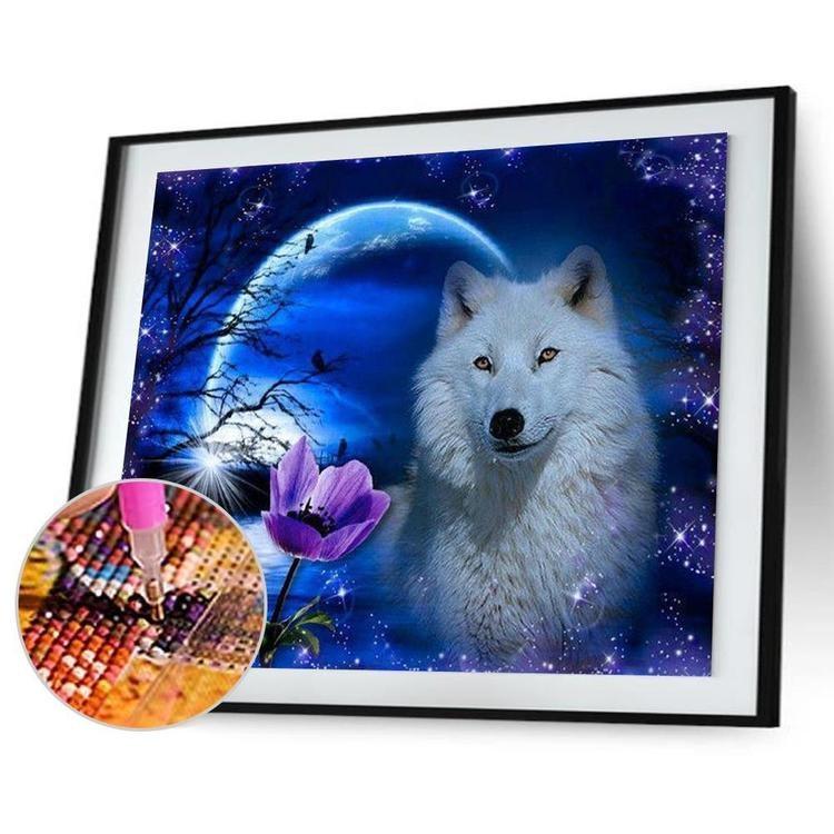 Vargen och månen