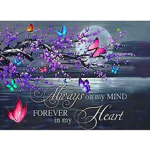 Romantic Butterfly Letter