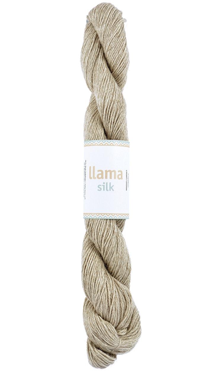 Llama Silk, Beige